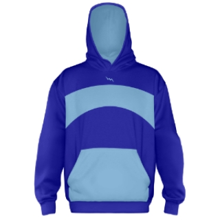 Royal Blue Hooded Sweatshirts