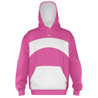 Hot Pink Hooded Sweatshirt