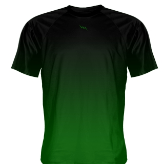 Black Green Shooter Shirt