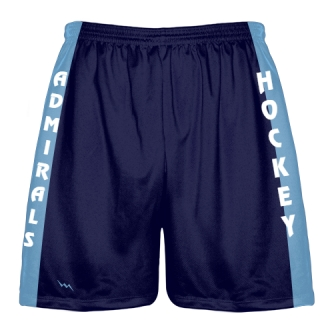 Navy Blue Hockey Shorts