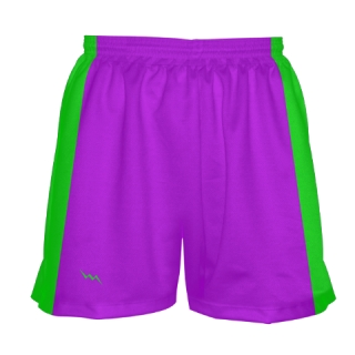 girls lacrosse shorts purple