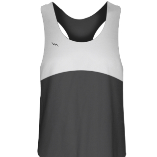 Womens Lacrosse Uniform Charcoal Grey