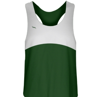 Girls Lacrosse Uniforms Forest Green