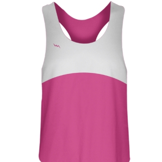 Girls Lacrosse Uniforms Custom Hot Pink