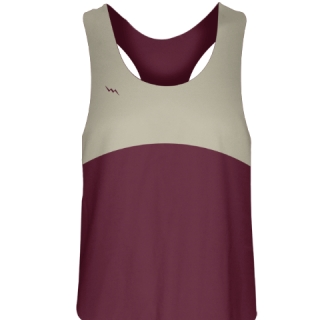 Girls Lacrosse Uniforms Maroon