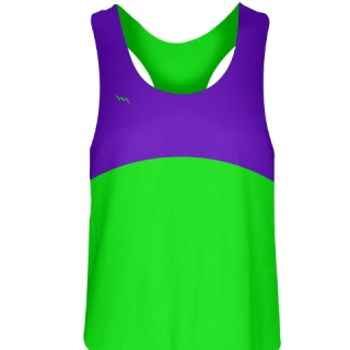 Womens Lacrosse Uniforms Neon Green