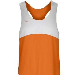 Girls Lacrosse uniforms Orange