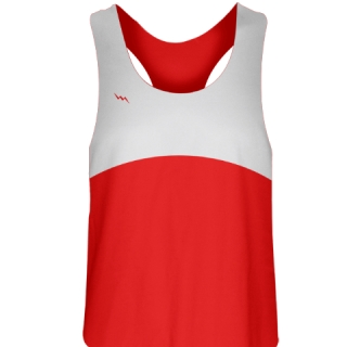 Girls Lacrosse Uniforms Red