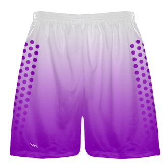 Purple Football Shorts