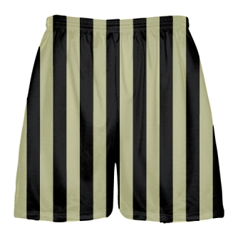 Stripe Lacrosse Shorts Vegas Gold