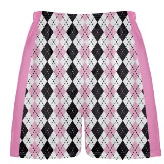Pink Lacrosse Shorts