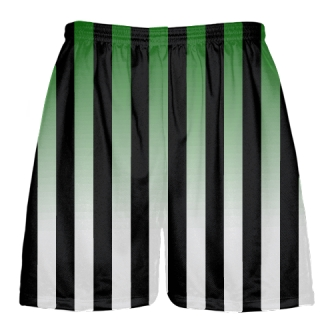 Black and Green Lacrosse Shorts