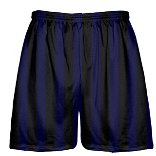 Blue and Black Lacrosse Shorts