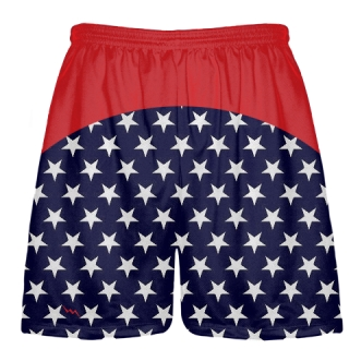 Navy Lacrosse Shorts Youth