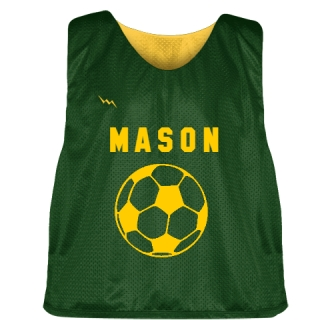 College Soccer Pinnies