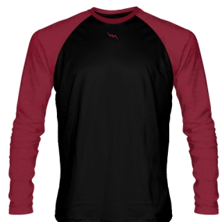 Cardinal Red Long Sleeve Soccer Jerseys