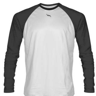 Charcoal Grey Long Sleeve Soccer Jerseys