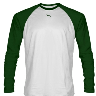 Forest Green Long Sleeve Soccer Jerseys