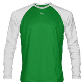Kelly Green Long Sleeve Soccer Jerseys
