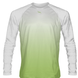 Lime Green Long Sleeve Soccer Shirts