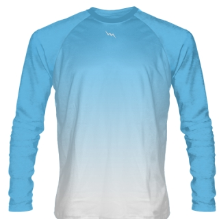 Powder Blue Long Sleeve Soccer Jerseys