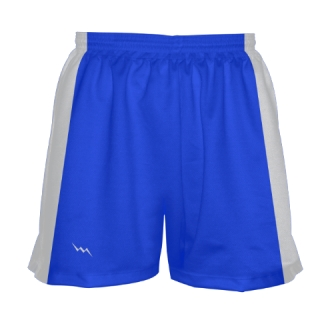 Girls Royal Blue Lacrosse Shorts