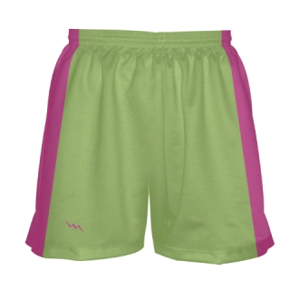 Lime Green Girls Lacrosse Shorts