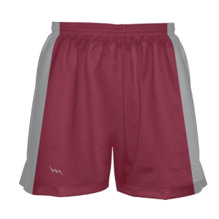 Girls Cardinal Red Lacrosse Shorts