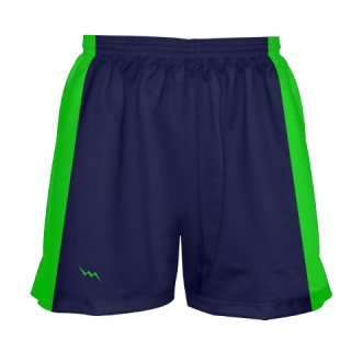Girls Navy Blue Lacrosse Shorts