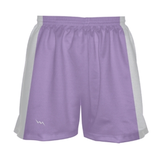 Girls Light Purple Lacrosse Shorts