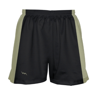 Girls Black Lacrosse Shorts