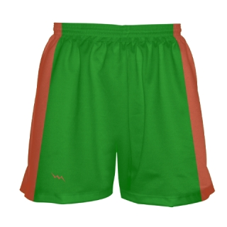 Girls Kelly Green Lacrosse Shorts