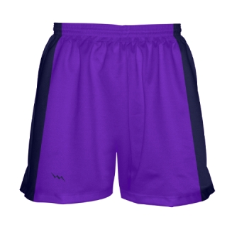 Girls Purple Lacrosse Shorts