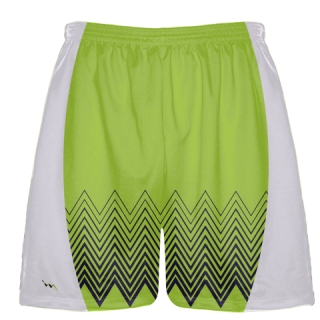 Lime Green Football Shorts