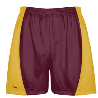 Maroon Football Shorts