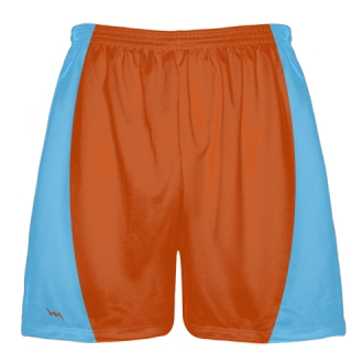 Orange Football Shorts
