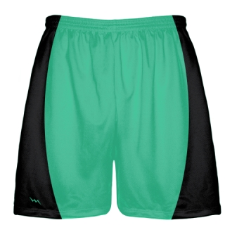 Teal Football Shorts