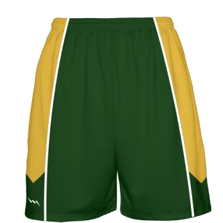 Dark Green Basketball Shorts