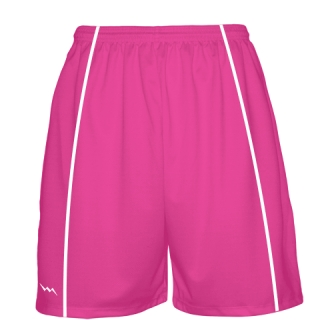 Fluorescent Pink Basketball Shorts