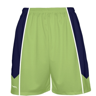 Lime Green Basketball Shorts