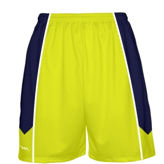 Yellow Basketball Shorts