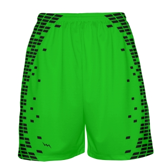 Neon Green Basketball Shorts