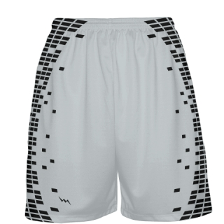 Silver Basketball Shorts