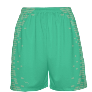 Teal Basketball Shorts