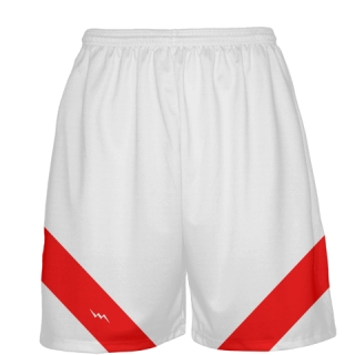White Basketball Shorts