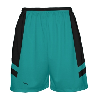 Turquoise Basketball Shorts