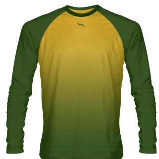 Forest Green Long Sleeve Shooting Shirts Basketball