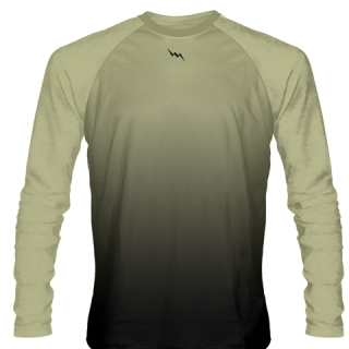 Vegas Gold Long Sleeve Basketball Shooter Shirts
