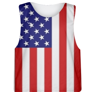American Flag Pinnie