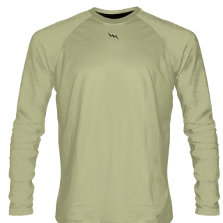 Vegas Gold Long Sleeve Softball Jerseys